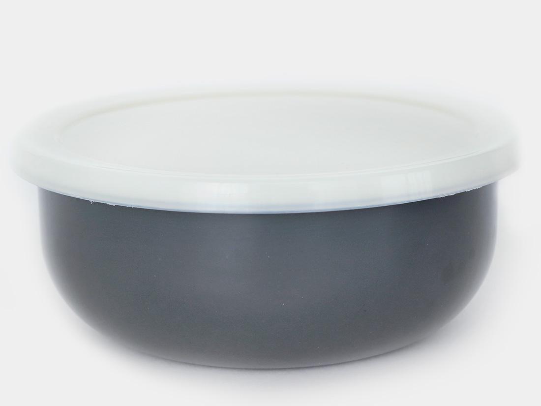cotta 琺瑯 丸型16cm グレー