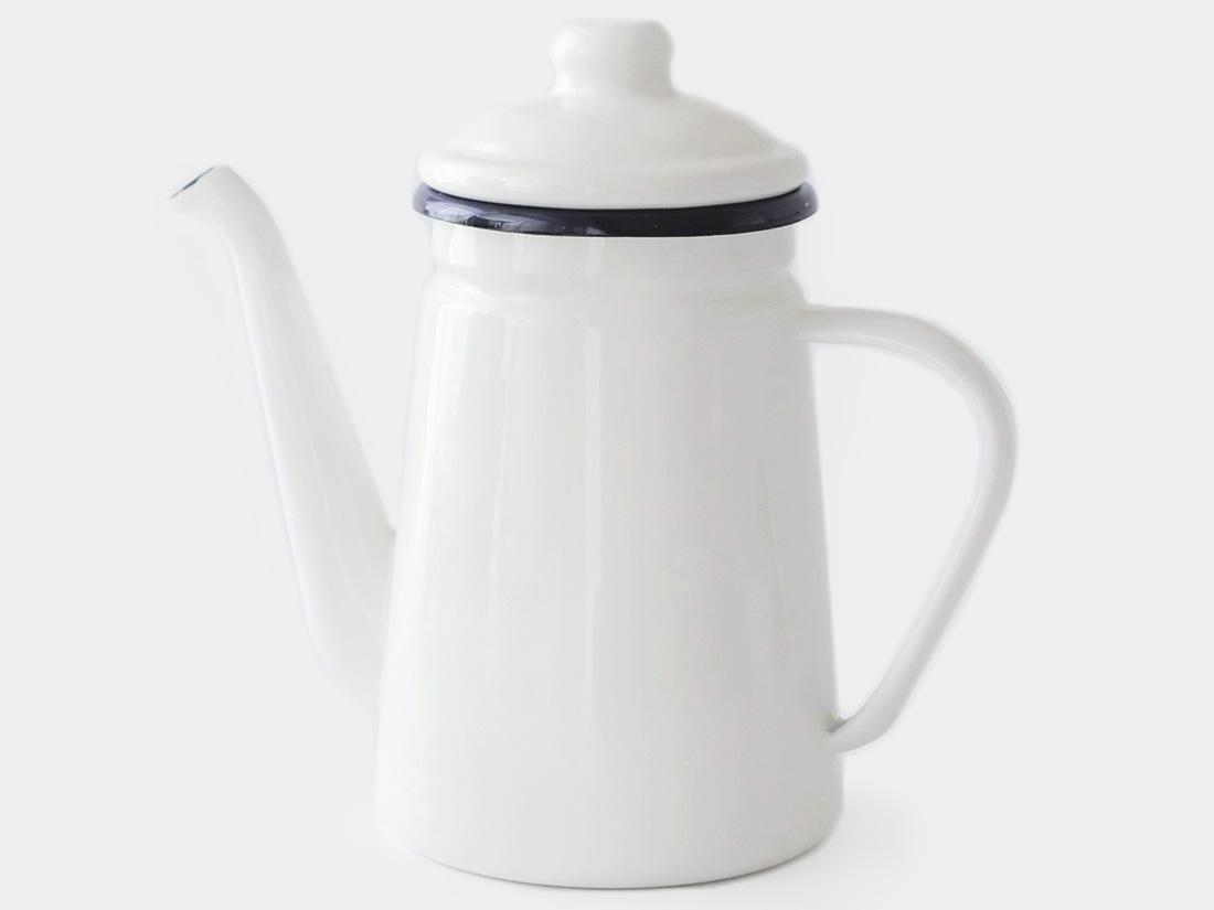 cotta 琺瑯 コーヒーポット ホワイト
