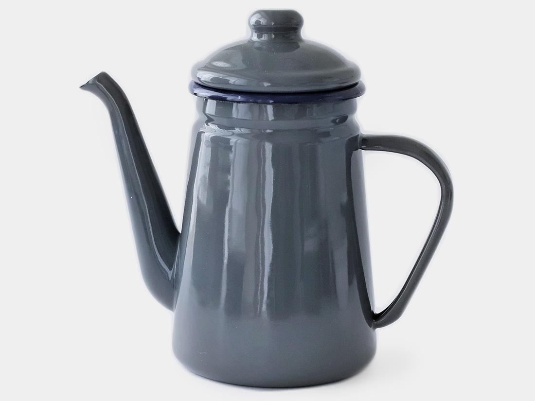 cotta 琺瑯 コーヒーポット グレー