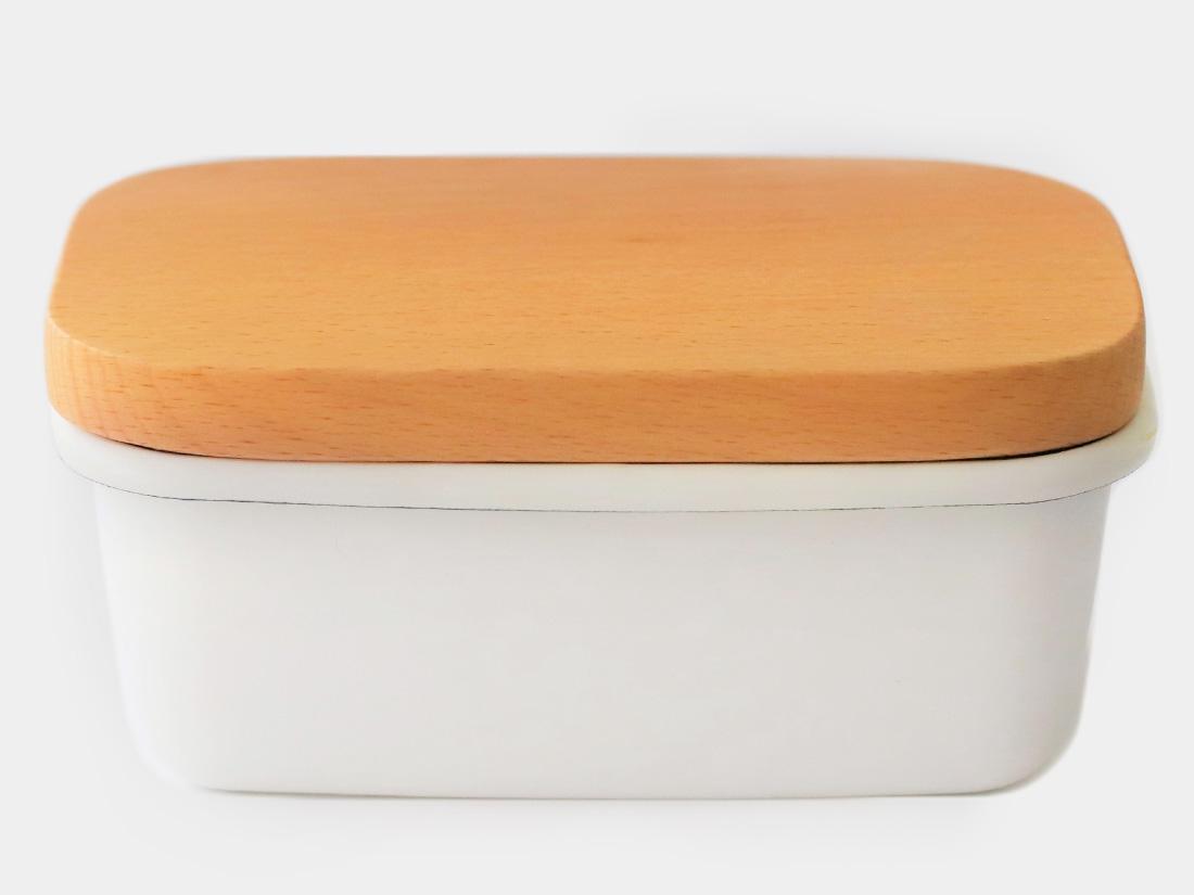 cotta 琺瑯 バターケース ホワイト