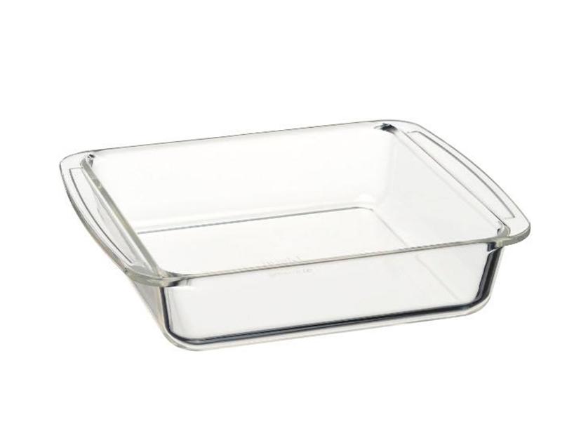iwakiケーキ焼き皿(角型18×18cm)