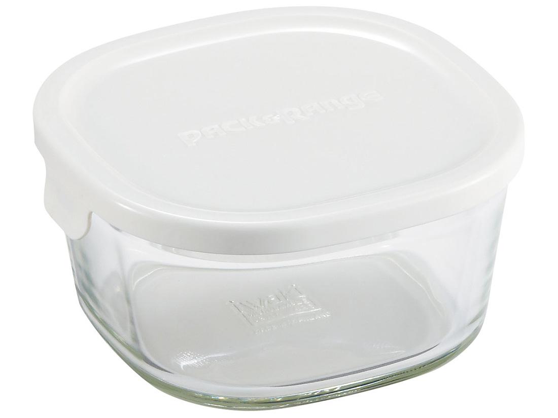 iwakiパック&レンジ ミニ 深型 ホワイト