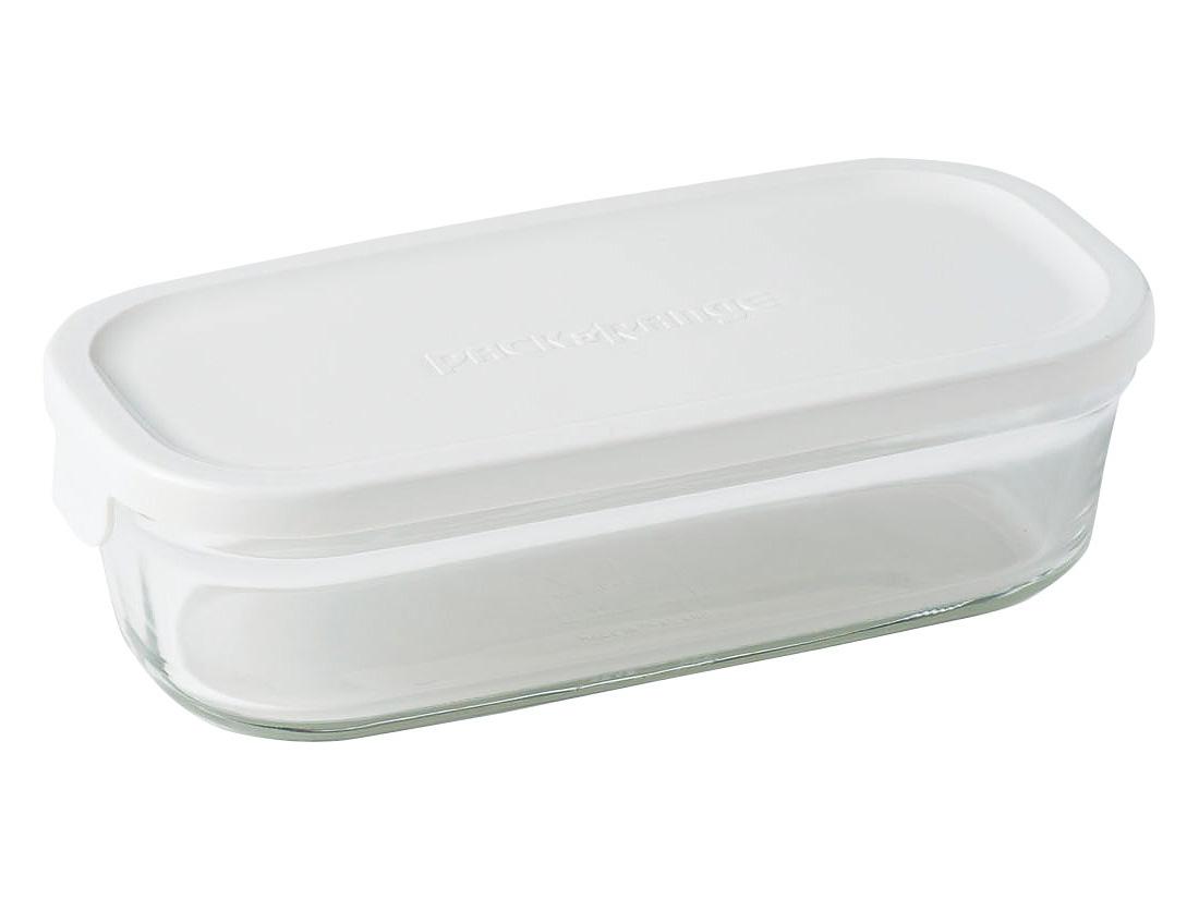 iwakiパック&レンジ BOX ハーフ ホワイト