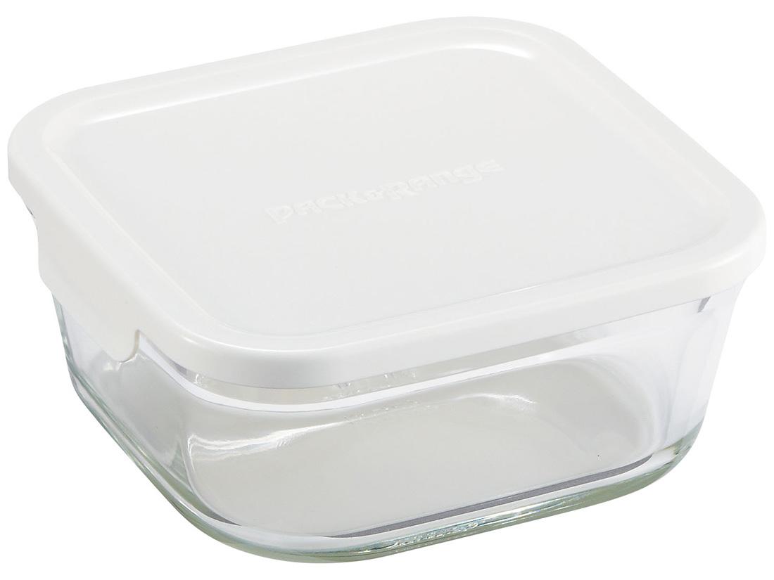 iwakiパック&レンジ BOX 小 深型 ホワイト