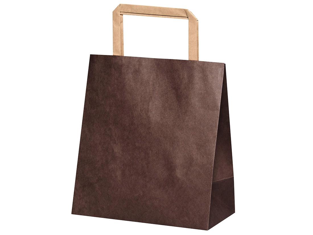 平紐手提袋 H平181 ショコラ
