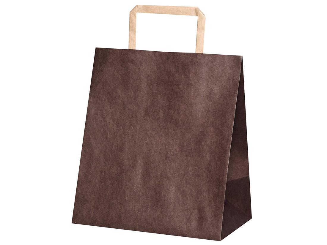 平紐手提袋 H平2214 ショコラ