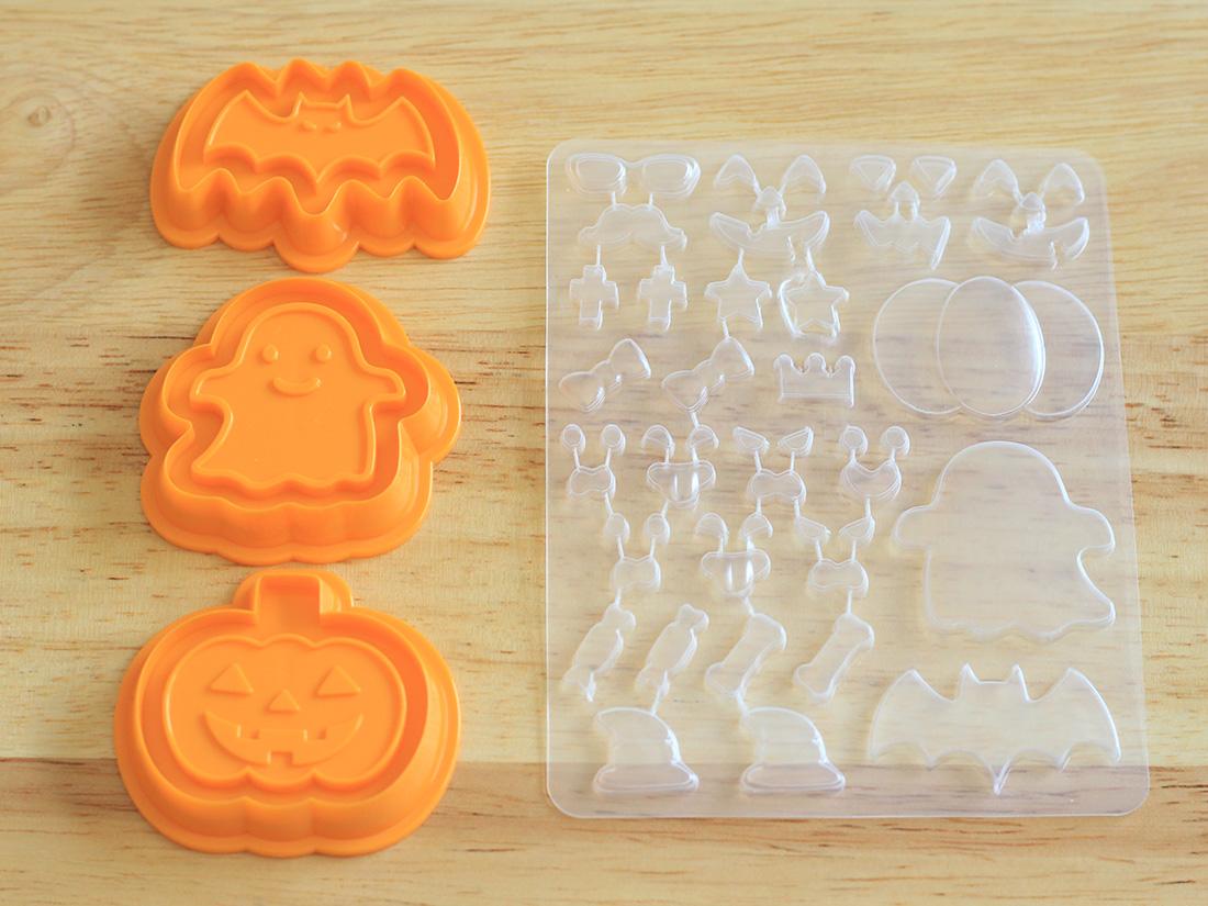 CKPD クッキーデコ型セット(モンスターナイト 3枚入)