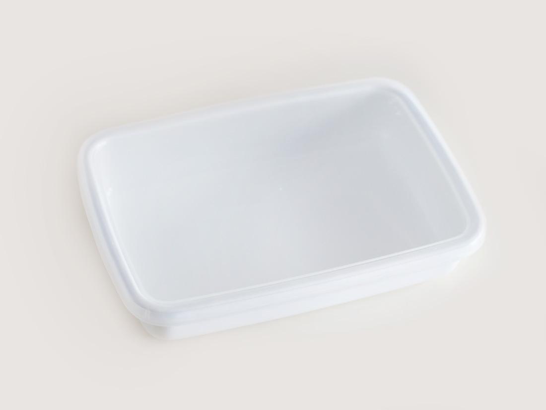 野田琺瑯 ホワイトシリーズ レクタングル浅型Sシール付