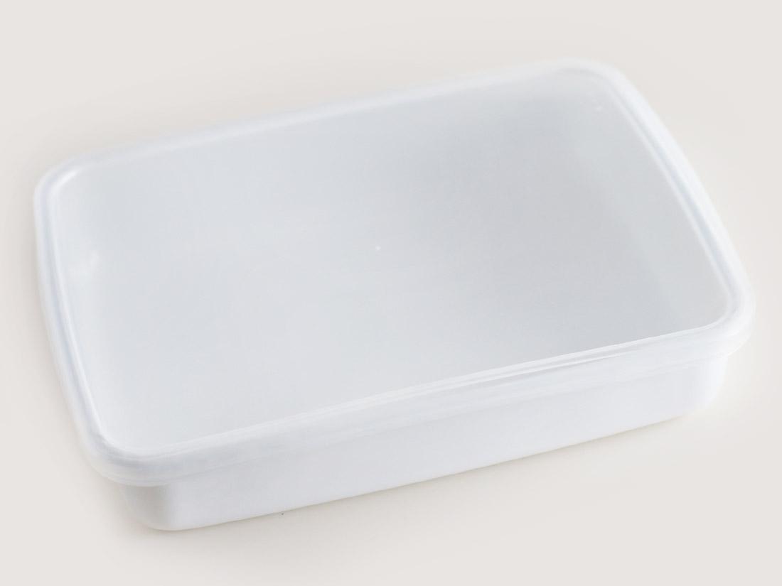 野田琺瑯 ホワイトシリーズ レクタングル浅型Lシール付
