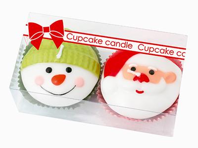 クリスマスカップケーキ(1箱2個入)