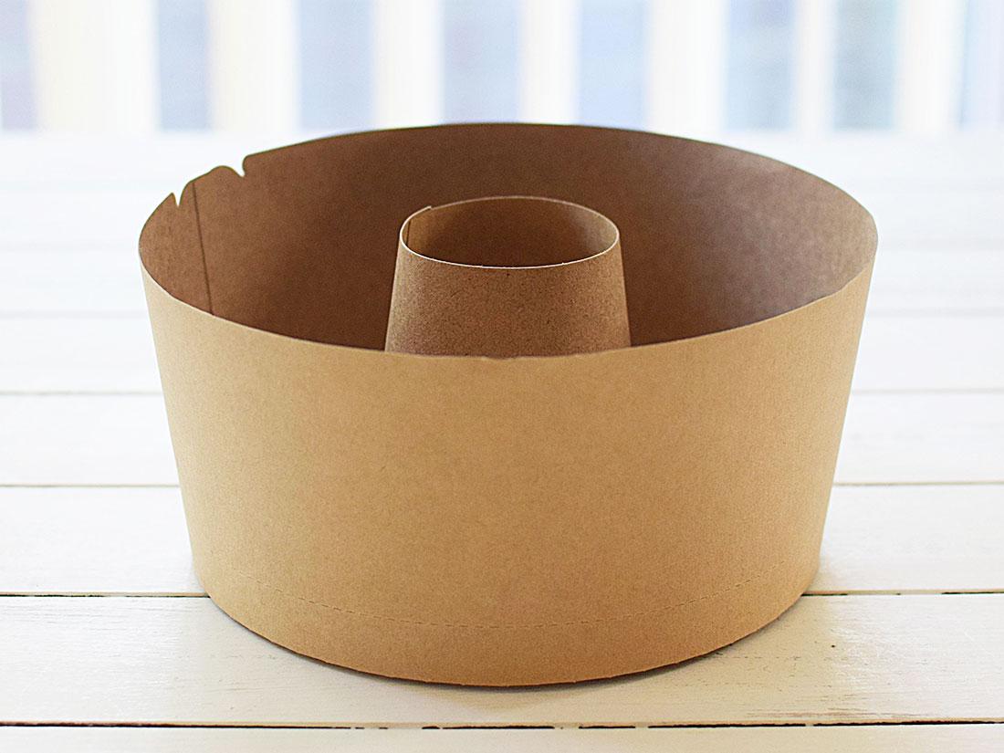 クラフトシフォンケーキカップ 15cm