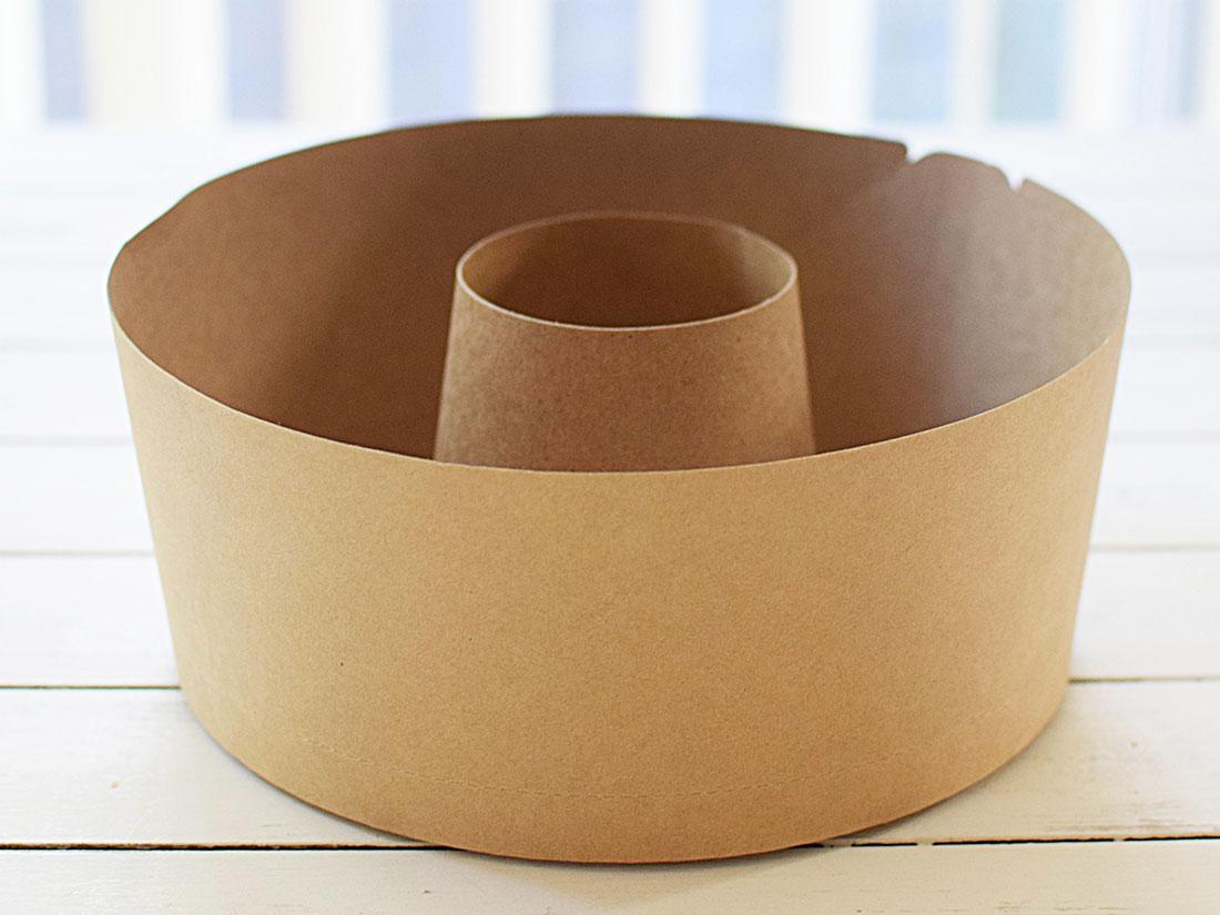 クラフトシフォンケーキカップ 18cm