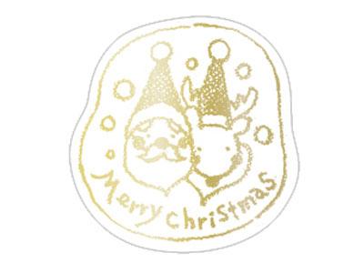 シール クリスマス No.3-2