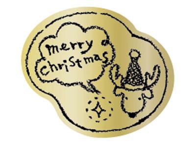 シール クリスマス No.4