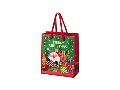 クリスマスフレンズペーパーバッグ