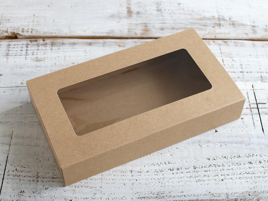 バリアブラウンBOX(窓付)