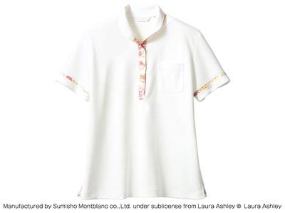ニットシャツ LW201-12(オフホワイト/アメリ ピンク) M