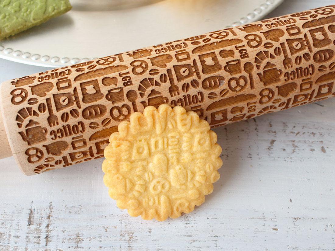 cotta 木製クッキーローラー コーヒータイム