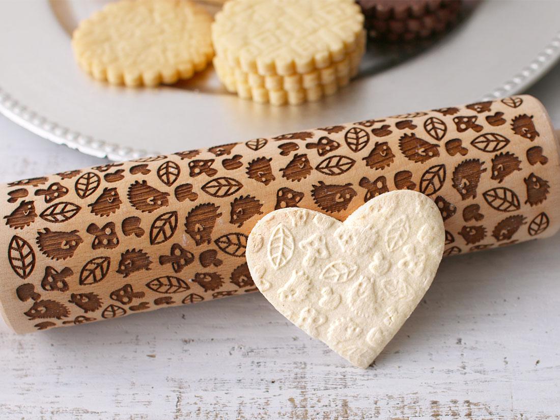 cotta 木製クッキーローラー はりねずみ