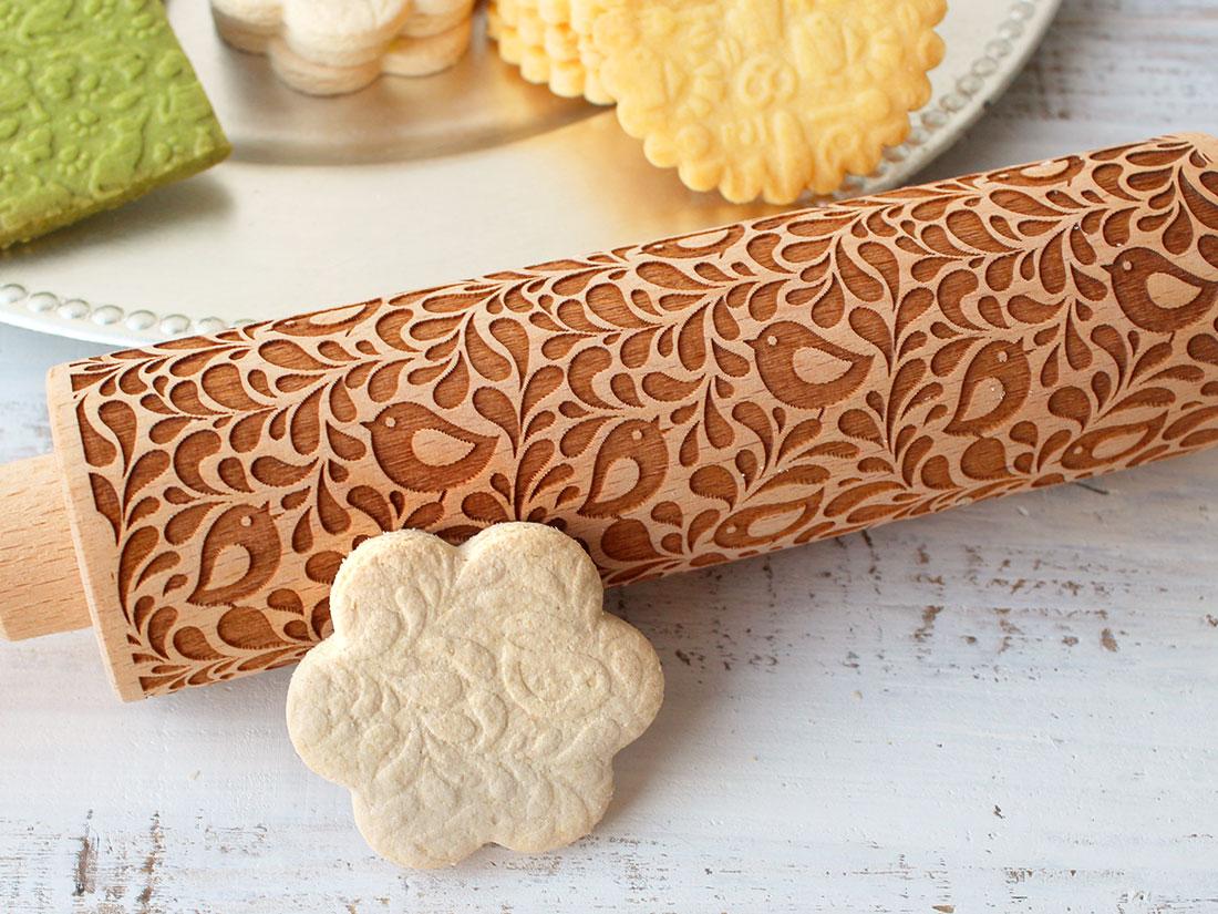 cotta 木製クッキーローラー バード