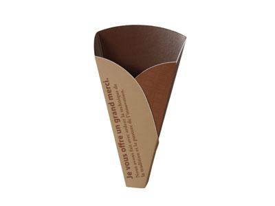 割りチョコサック 小(OP袋付き) ゴールド/ブラウン