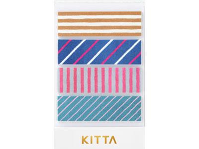 マスキングテープ KITTA シマシマ