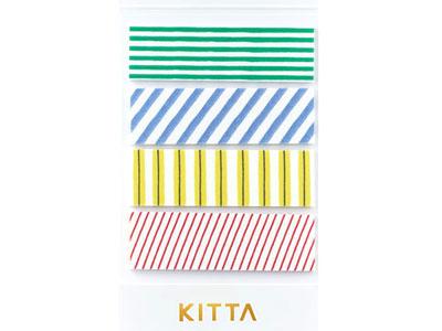 マスキングテープ KITTA シマシマ3