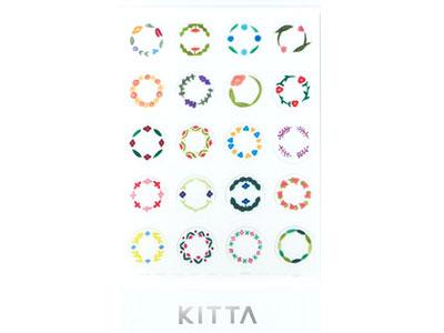 KITTA Seal サークル(フラワー)