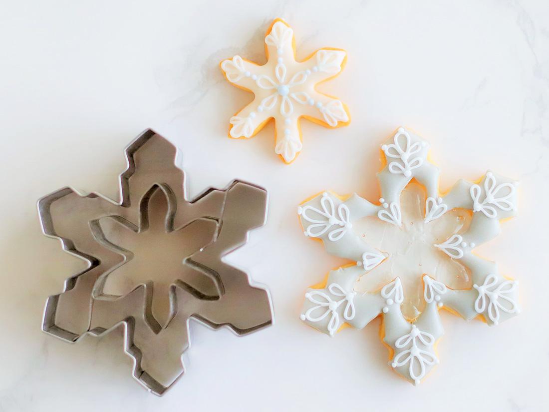 cotta クリスマスクッキー型 雪の結晶 花