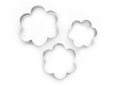cotta クッキー型 花(3個セット)