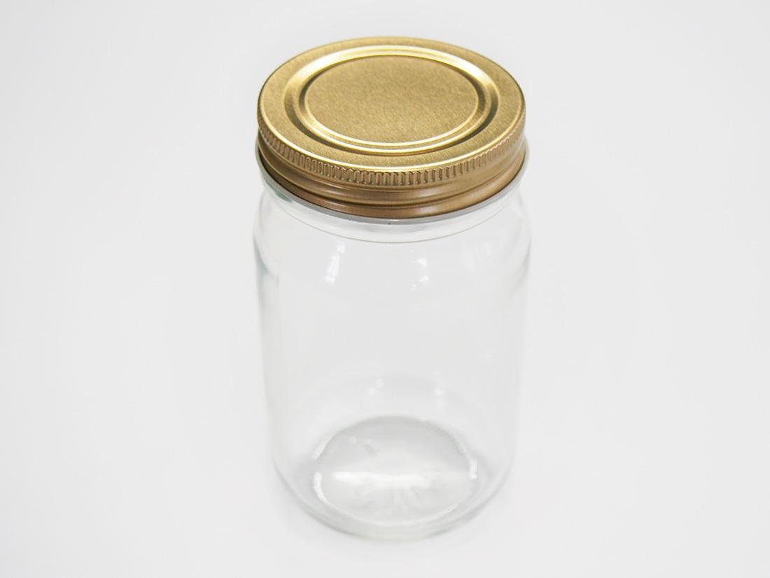無地ガラス瓶 M-225(本体のみ)