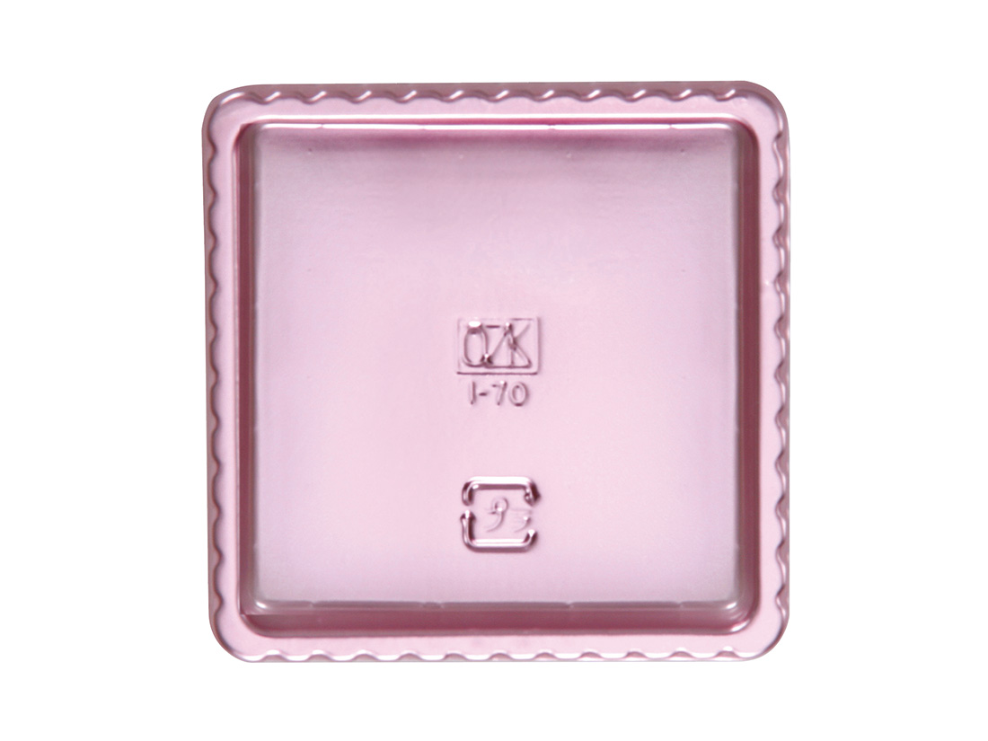 GMカラートレー70角 ピンク