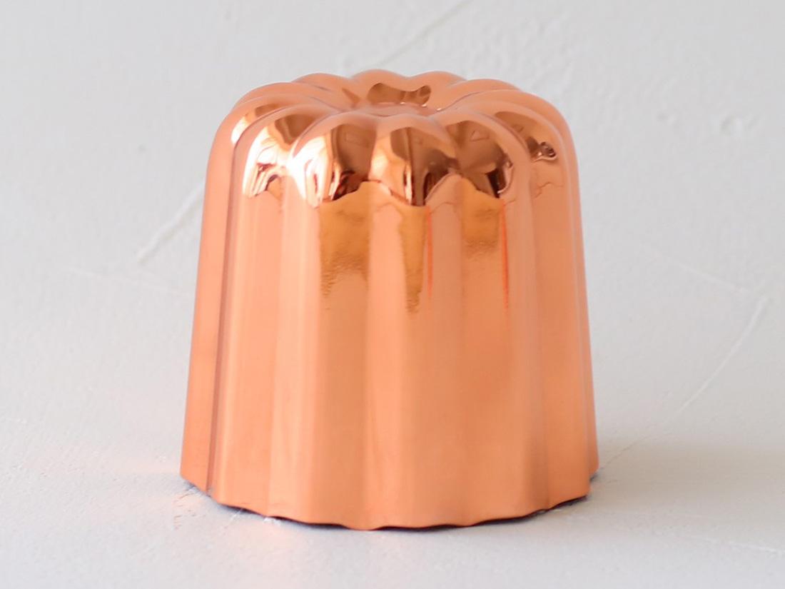 銅製カヌレ型 大