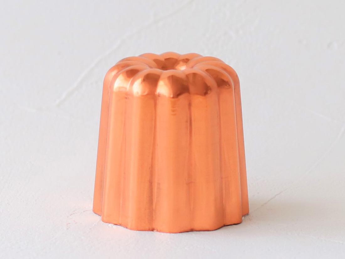 銅製カヌレ型 中