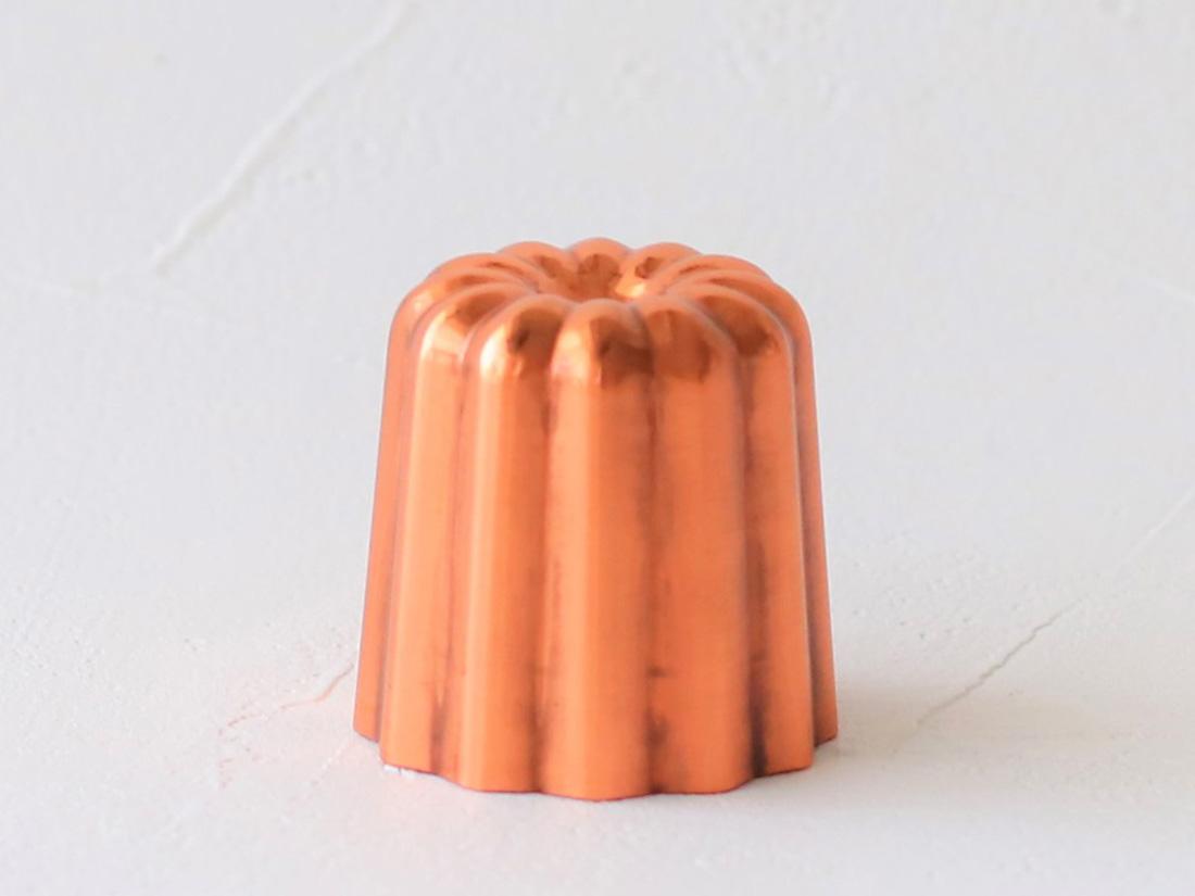 銅製カヌレ型 小