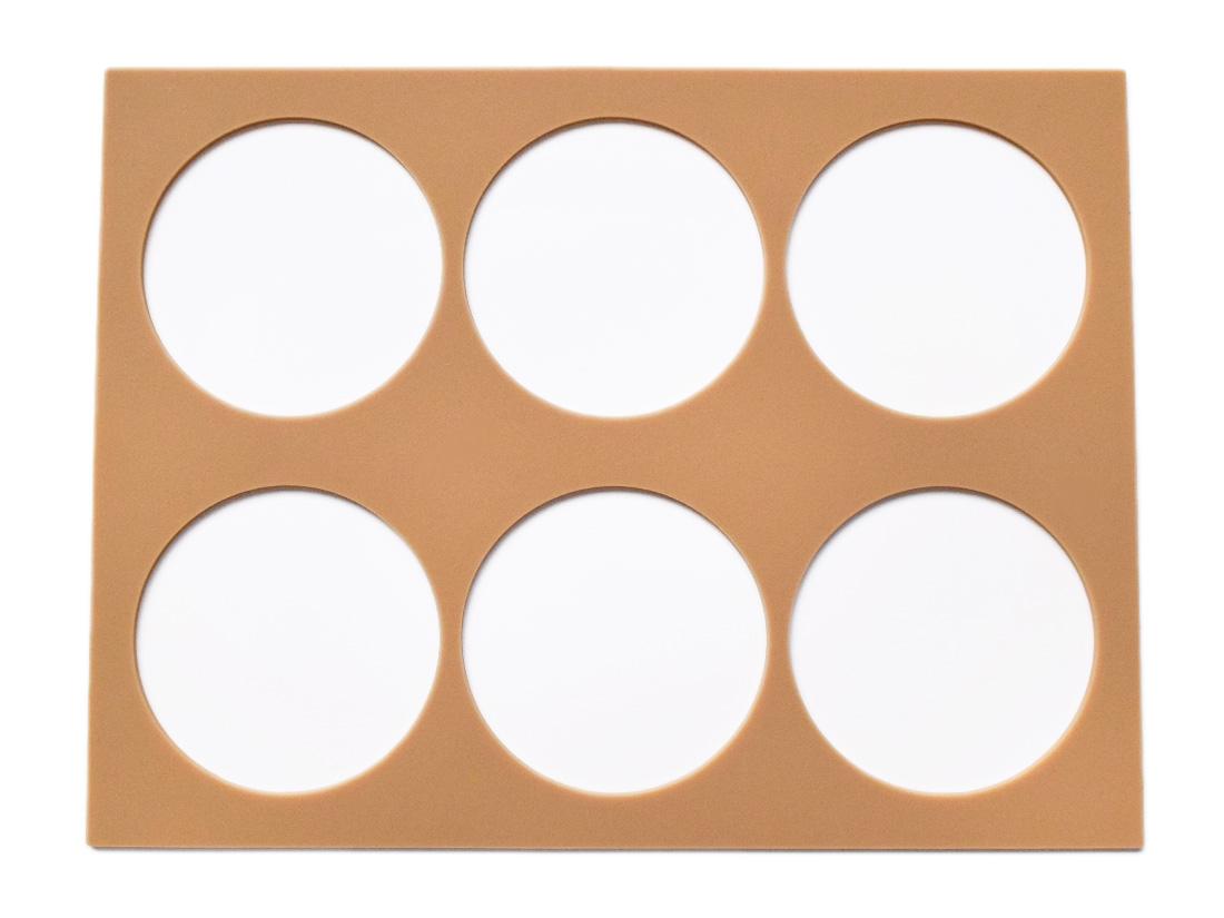 cotta ラングドシャプレート サークル 70mm