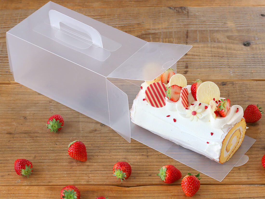 cotta くりかえし使えるロールケーキ箱