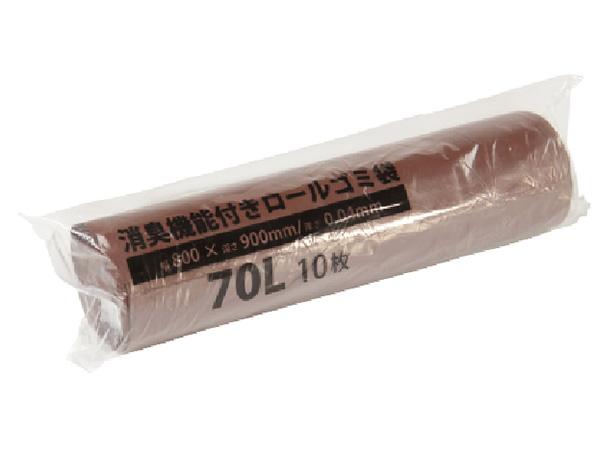 消臭ロールゴミ袋70L LD(10枚入)