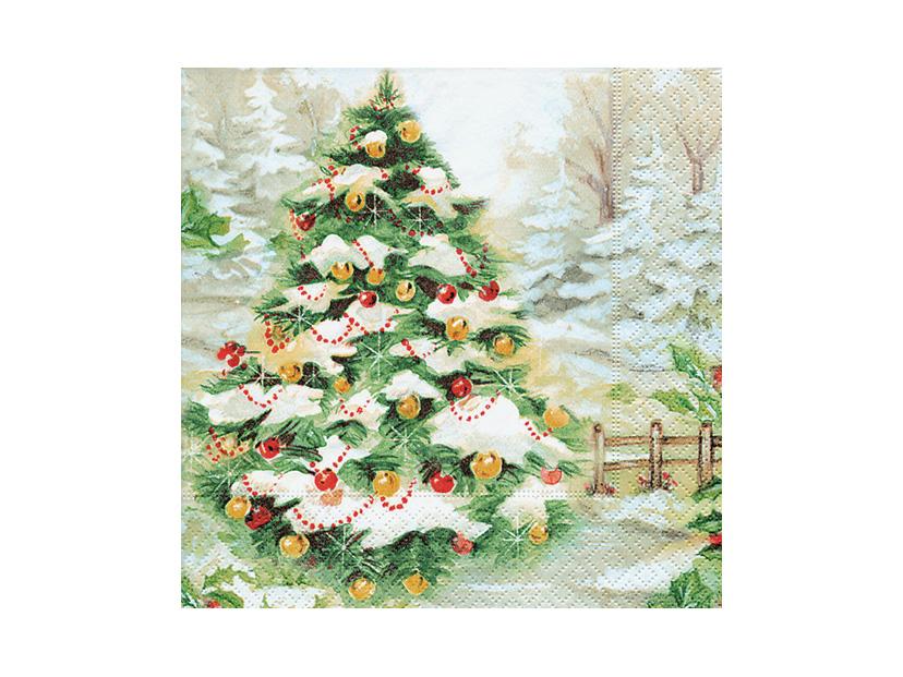 クリスマス PD600210 スノーツリー
