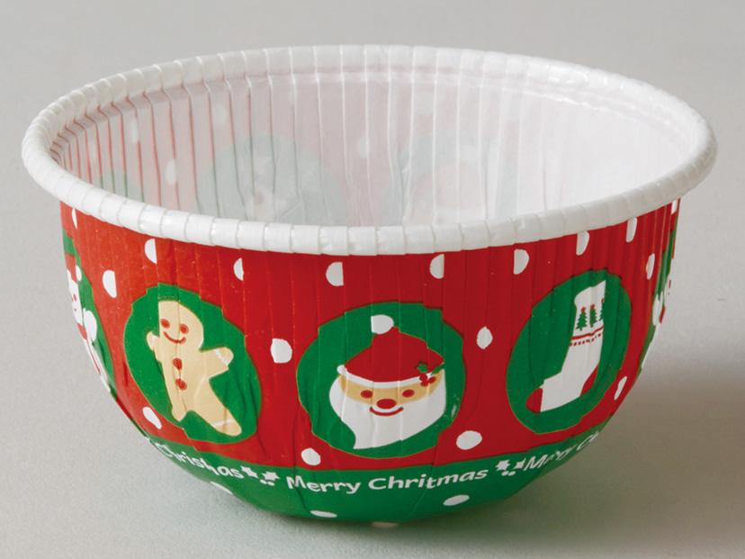 クリスマス XR31 ラウンドカップ(クリスマスボール)