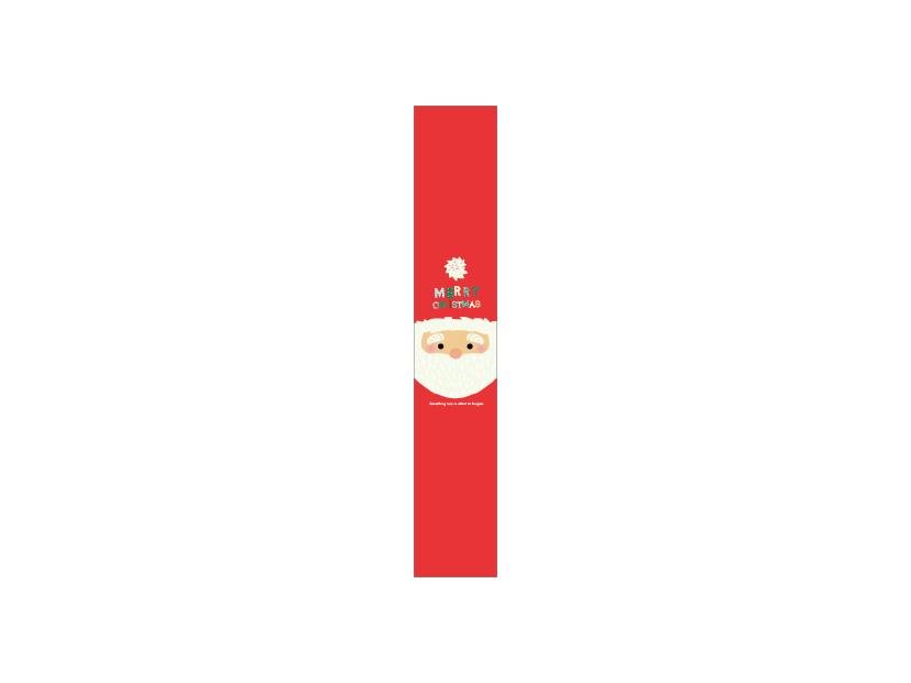 クリスマス 帯 サンタ1小 20-806X