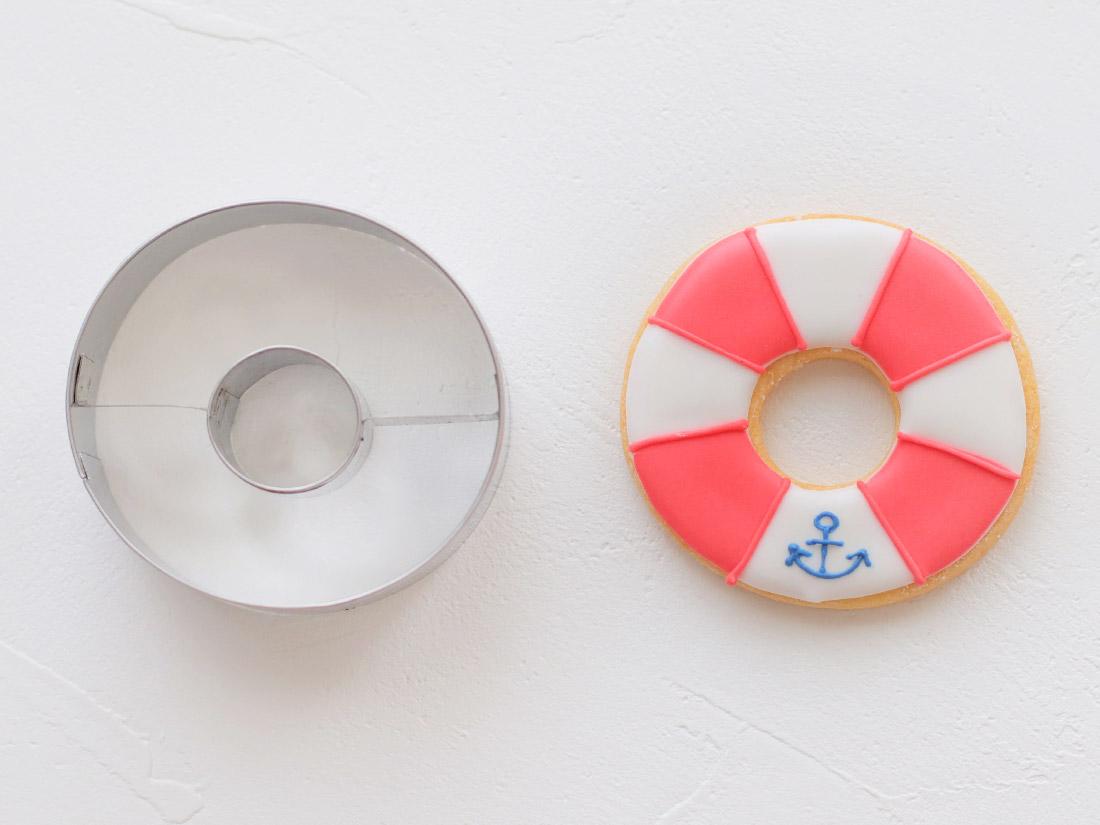 cotta マリンクッキー型 浮き輪
