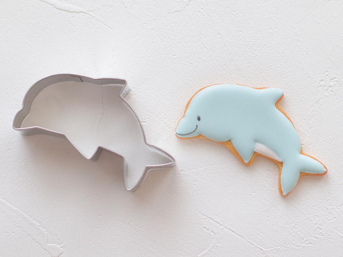 cotta マリンクッキー型 イルカ