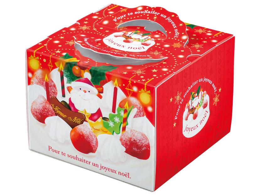 クリスマス デコ箱 TD スマイル 6寸(トレーなし)