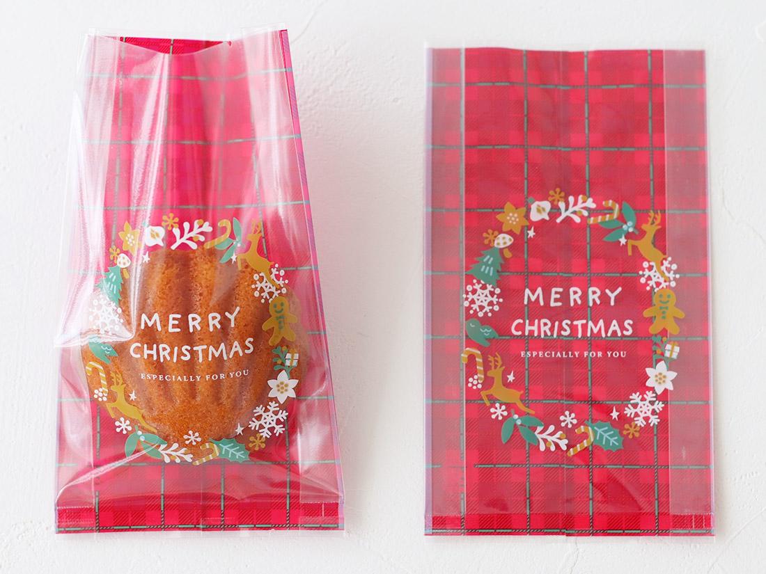 cotta ガス袋クリスマスリース 85×H150(マチ25)mm