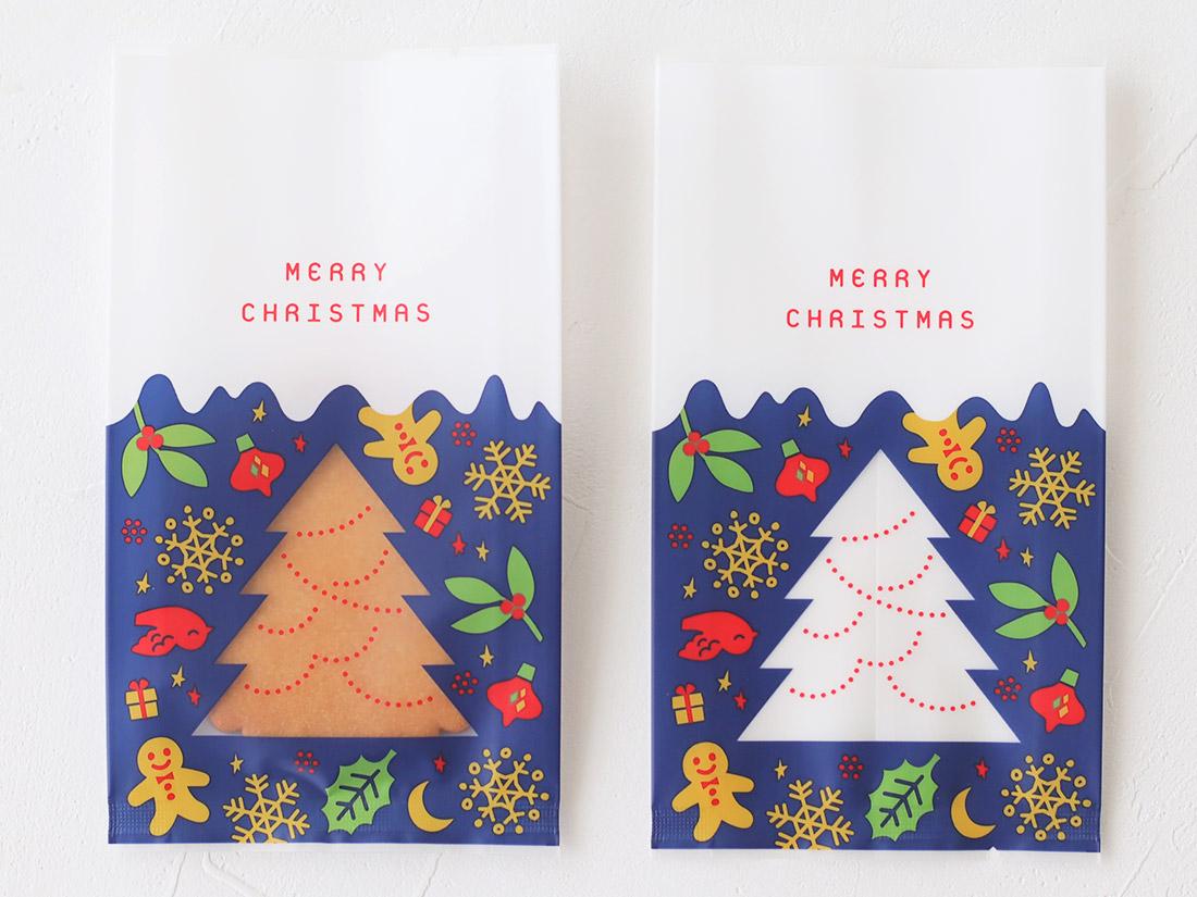 cotta ガス袋クリスマスツリー 85×H150(マチ25)mm
