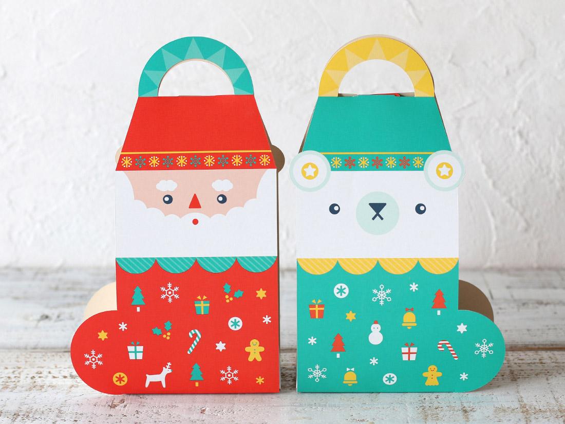 cotta ギフト箱 2wayクリスマスブーツ