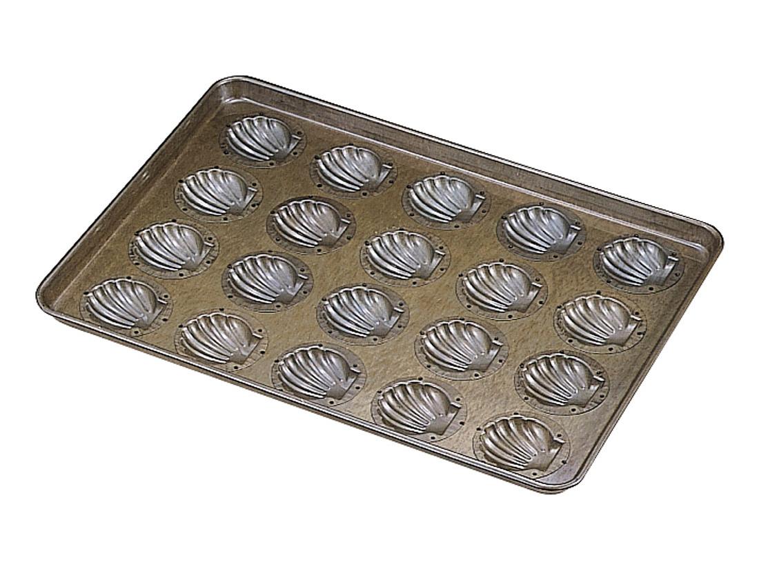千代田金属 シリコン加工 ほたて貝型天板 (20ヶ取)