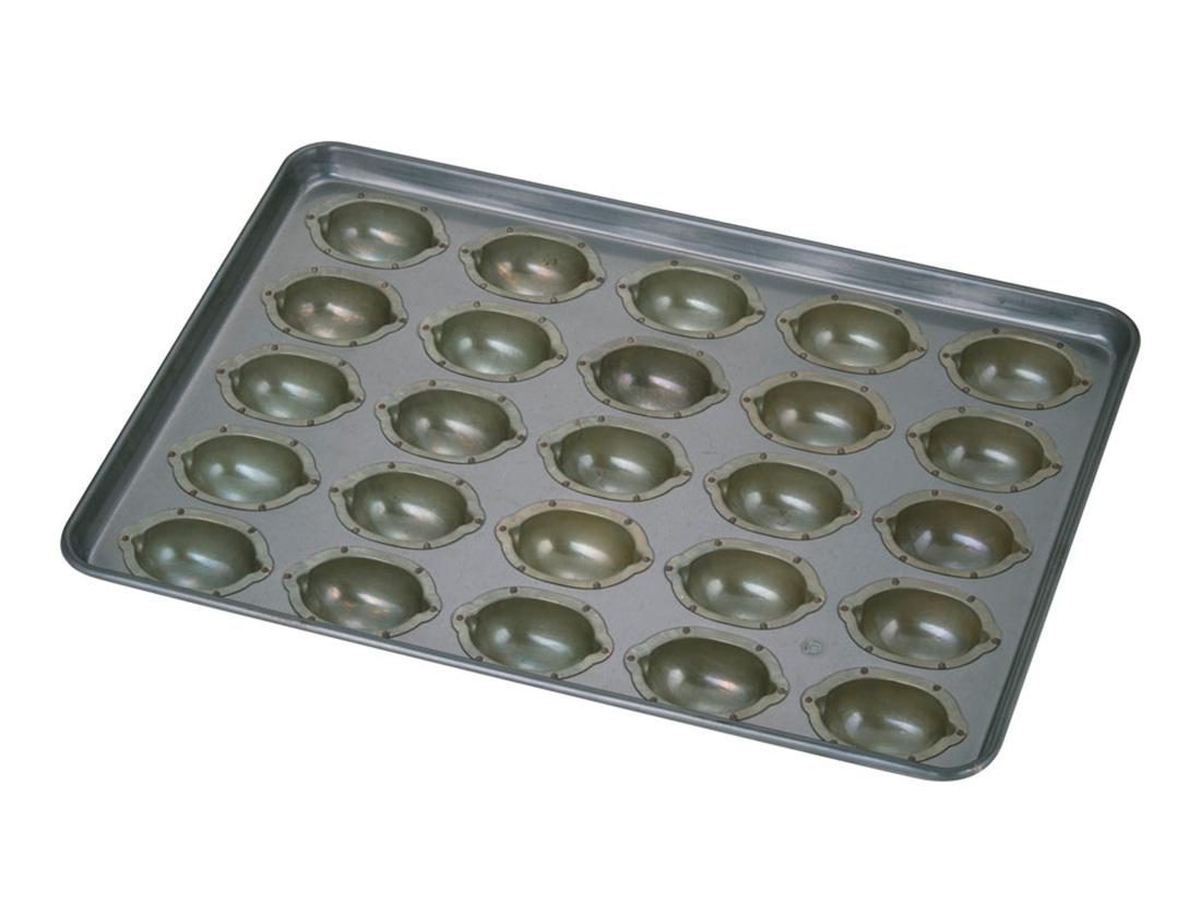 千代田金属 シリコン加工 レモンケーキ型天板 (25ヶ取)