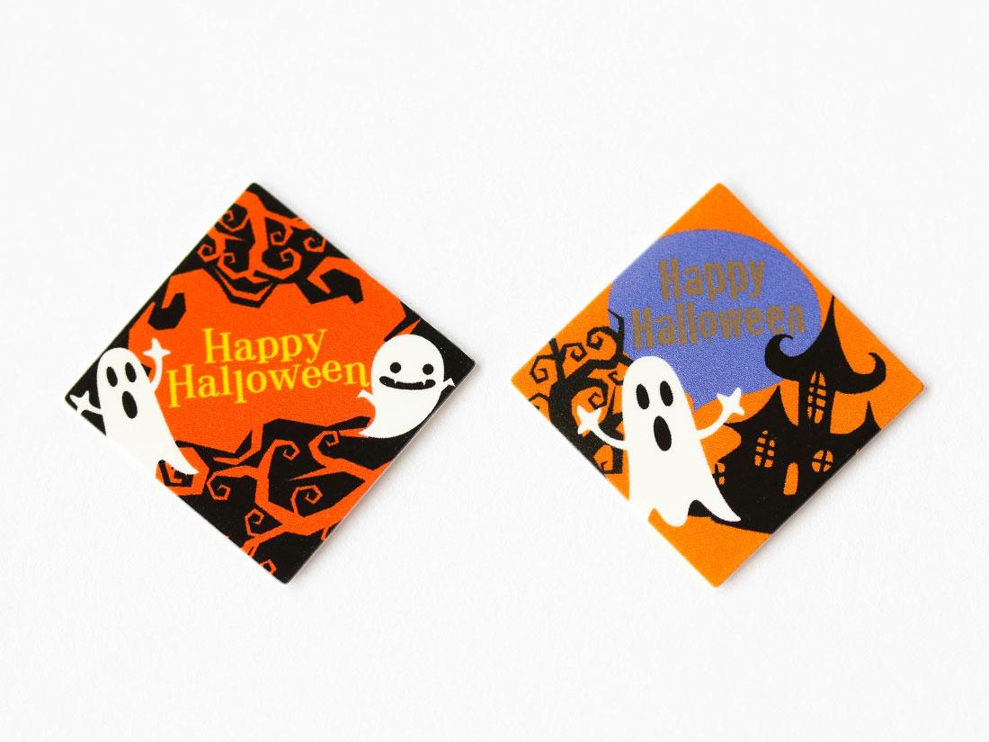 ケーキピック ハロウィンおばけ(2柄×10片)